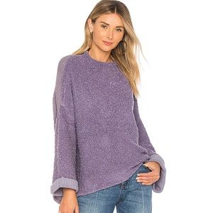 NEW Free People Cuddle Up Pullover sweater